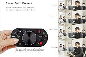 Dslr Rig USB Follow Focus & Exposure Control for Canon 1D4, 5D2 & 5D3, 7D, 60D, 600D, 550D, 500D, T1i, 1100D, T3