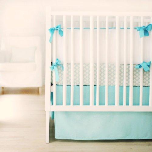 New Arrivals Simply Dandy 3 Piece Bedding Set, Aqua
