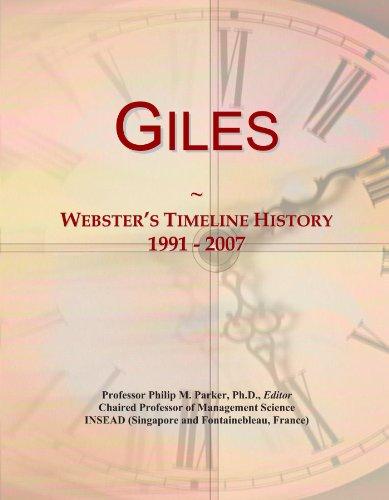 Giles: Webster's Timeline History, 1991 - 2007