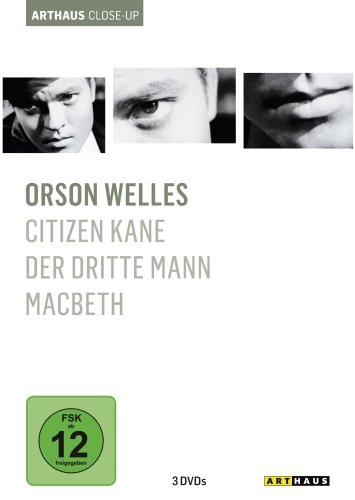 Orson Welles - Arthaus Close-Up [3 DVDs]