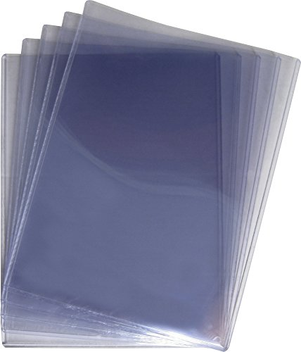 (5) Life Magazine Topload Holders - Rigid Plastic Sleeves - BCW Brand
