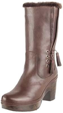Stuart Weitzman Women's Wooly Boot,T.Moro Vecchio Nappa,10 M US