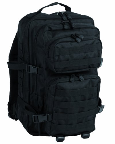 50l Black Military Army Patrol Molle Assault Pack Tactical Combat Rucksack Backpack Bag
