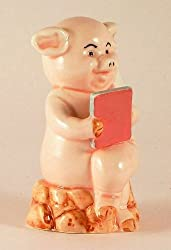 Danbury Mint 8cm high pig figurine - Piggies collection - Pig Pen