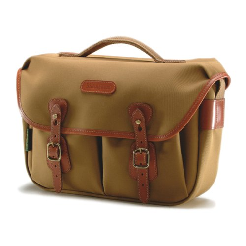 Billingham Hadley Pro Canvas Camera Bag With Tan Leather Trim - Khaki