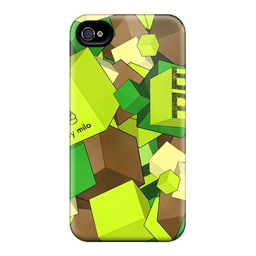 Anne Marie Harrison Snap On Hard Case Cover Baby Milo Boxs Protector For Iphone 4/4S front-1032653