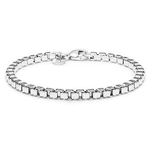 Sterling Silver Venetian Link Bracelet