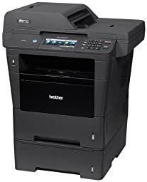 Brother Printer MFC8950DWT Wireless Monochrome Printer with Scanner, Copier and Fax, Amazon Dash Replenishment Enabled