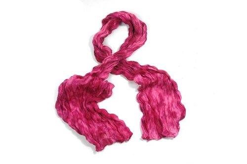 Beautiful Two Tone Long Crinkle Scarves in 3 colours - PINK/PURPLE/BLUE - (IMO)