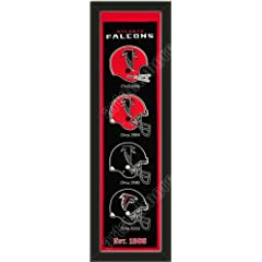 Heritage Banner Of Atlanta Falcons -Framed Awesome & Beautiful-Must For A... by Art and More, Davenport, IA