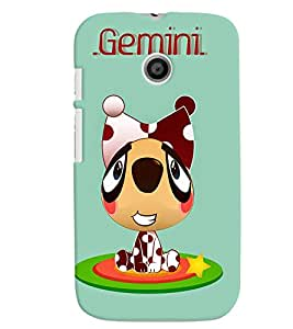 TOUCHNER (TN) Gemini Back Case Cover for Motorola Moto E XT1021::Motorola Moto E (1st Gen)