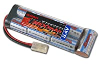 Tenergy 8.4V 3800mAh Flat NiMH Battery Pack for Airsoft Rifles, RC Car, Hobbico Electristar plane by Tenergy