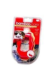 Pyara Paws Bamboo Care Cat Brush with Shampoo Dispenser