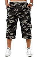 Pantacourt militaire Bermuda short Homme camouflage