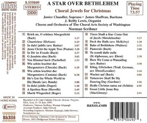 Star Over Bethlehem: Choral Jewels for Christmas