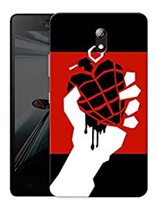 """American Idiot Printed Designer Mobile Back Cover For """"Lenovo Vibe P1m"""" By Humor Gang (3D, Matte Finish, Premium Quality, Protective Snap On Slim Hard Phone Case, Multi Color)"""
