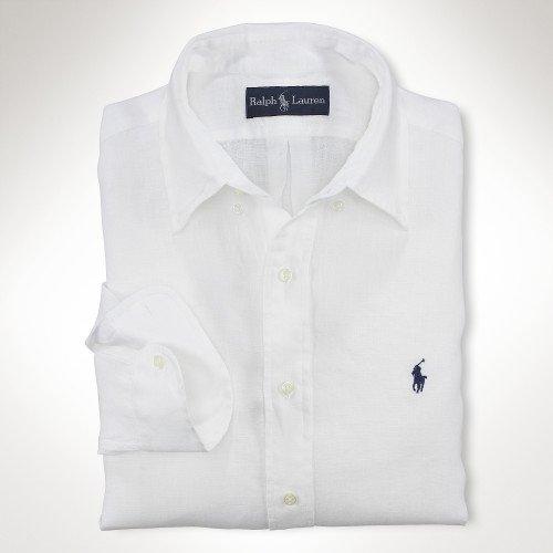 White Button Down Dress Shirt at ShopStyle