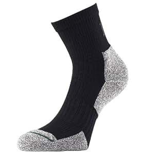 1000 Mile Men's 2 Season Performance Walking Sock - Charcoal, X-Large (12-14)