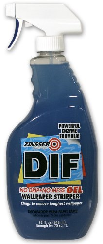 Zinsser 2466 DIF GEL Spray Ready To Use Wallpaper Stripper, 32-Ounce (Wallpaper Removal Solution compare prices)