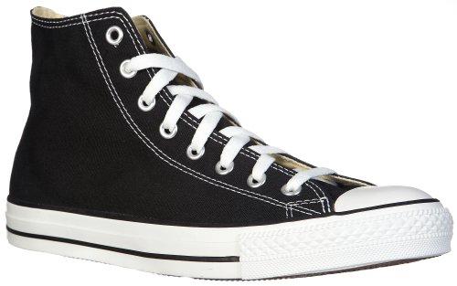 Converse Unisex Chuck Taylor Classic Hi Black Sneaker - 7 Men - 9 Women