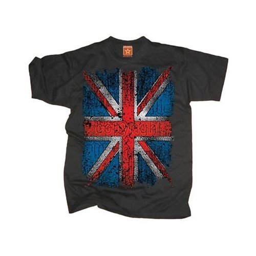 T-Shirt - Union Jack Flag Distress - XL