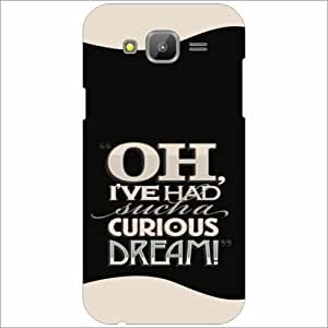 Samsung Galaxy J5 Back Cover - Curious Designer Cases