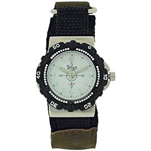 Terrain Velcro Strap Water Resistant Boys Sports Watch TV-968L