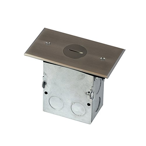 Single Gang Receptacle Floor Box 20A W/ Tamper Resistant 705547