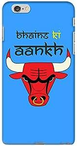 Kasemantra Bhains Ki Aankh Blue Case For Apple iphone 6-6S Plus