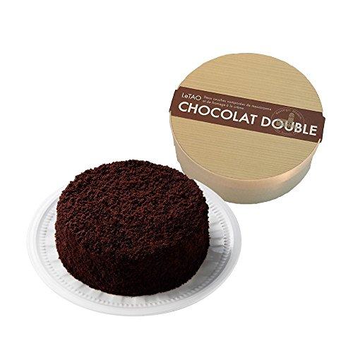 ルタオ (LeTAO) チーズケーキ ショコラドゥーブル ホール 4号(2~3人分)