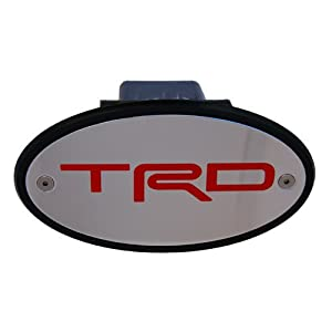 Amazon.com: Toyota TRD Licensed Chrome Receiver Hitch Cover