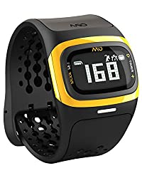 Mio Alpha 2 Heart Rate Monitor Sports Watch, Regular (Yellow)