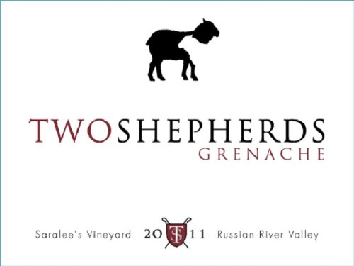 2011 Two Shepherds Saralee'S Rrv Grenache Noir 750 Ml
