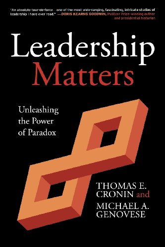 Image for publication on Leadership Matters: Unleashing the Power of Paradox