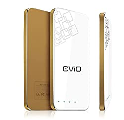 EViO 4500mAh Power Bank With Sleek & Slimest Shape - Portable Charger for iPh...