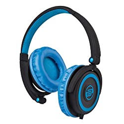 Reloop Flash Back DJ Headphones, Blue-Black from Mixware LLC