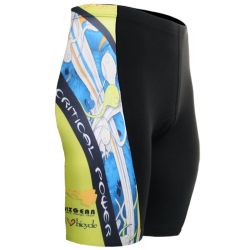 Buy Low Price Fixgear Mens bicycle clothing Tight cycle Bike Gel Padded Shorts S~3XL (B008Z9C970)