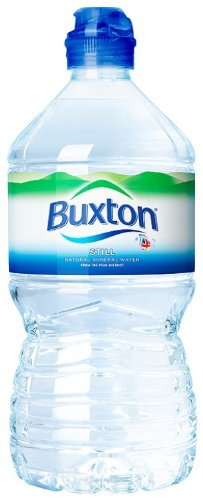 Buxton Still Mineral  Water Sportscap 1 Litre (Pack of 12)