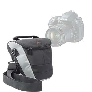 """Étui housse sac + poginée rembourée et bandoulière pour appareil photo Sony SLT-A58K CEC et Pentax K-50 Reflex numérique 3"""" 16 Mpix - par DURAGADGET"""