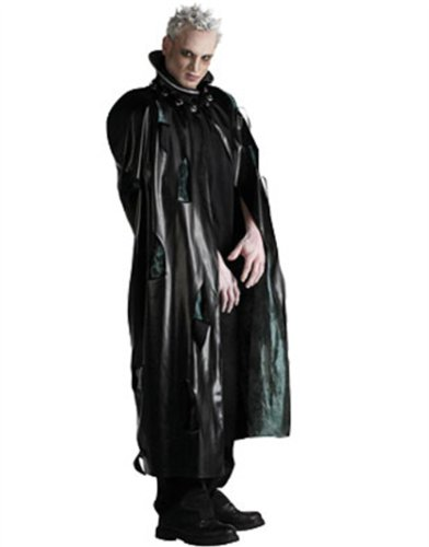 New Adults Faux-Leather Costume PVC Vampire Slayer Robe