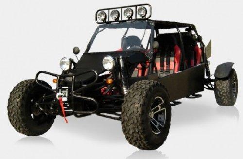 BMS Sand Sniper 1000 BLACK Gas 4 Cylinder 4 Seat Dune Buggy Go Kart