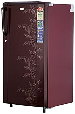 Haier HRD-2015CRO-H Direct-cool Single-door Refrigerator (181 Ltrs, 4 Star Rating, Red Orchid)