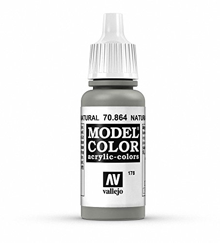Vallejo Natural Steel Paint, 17ml