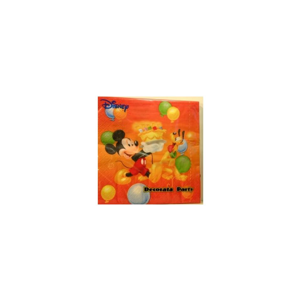 Servietten Happy Birthday Micky Maus Spielzeug