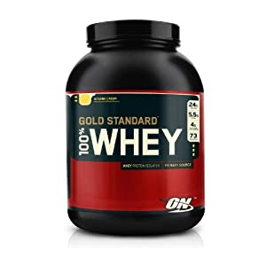 Optimum Nutrition社 100%ホエイゴールドスタンダードプロテインバナナクリーム BANANA CRM  2273g [海外直送品・並行輸入品]
