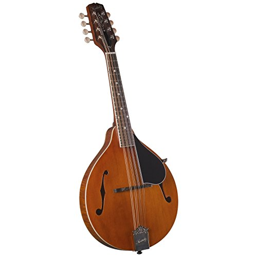 Kentucky Km-252 Artist Series A Model Mandolin, Transparent Amber Finish