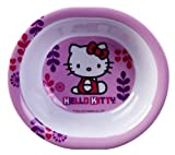Planet Zak's Good to Go Hello Kitty Oval Toddler Bowls, 9-Ounce, Set of 2