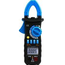 VE ACM03 Auto Range Digital Clamp Meter 400 AC DC Current Hz Tester