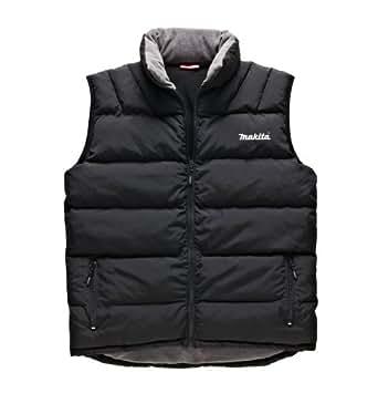 Amazon.com: Makita Padded Warm Gilet Bodywarmer Fleece Lined Work