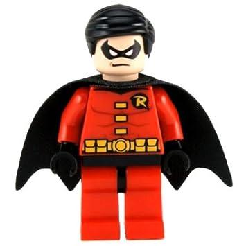 LEGO Super Heroes: Robin Mini-Figurine Avec Noir Cap